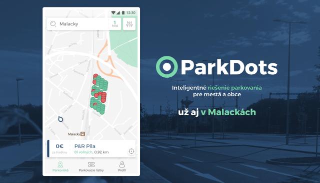 ParkDots v Malackách