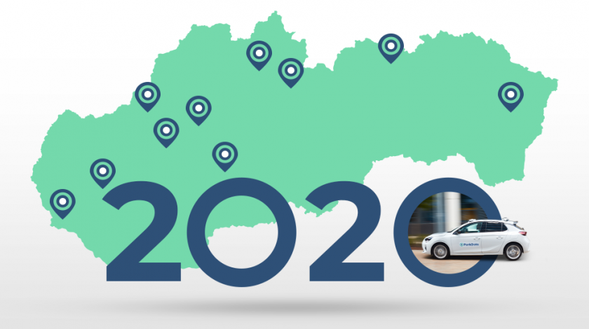 ParkDots novinky 2020