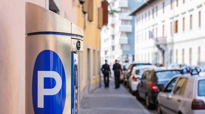 Mestský parkovací systém