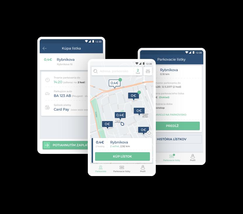 Jednoduché a bezpečné parkovanie s aplikáciou ParkDots