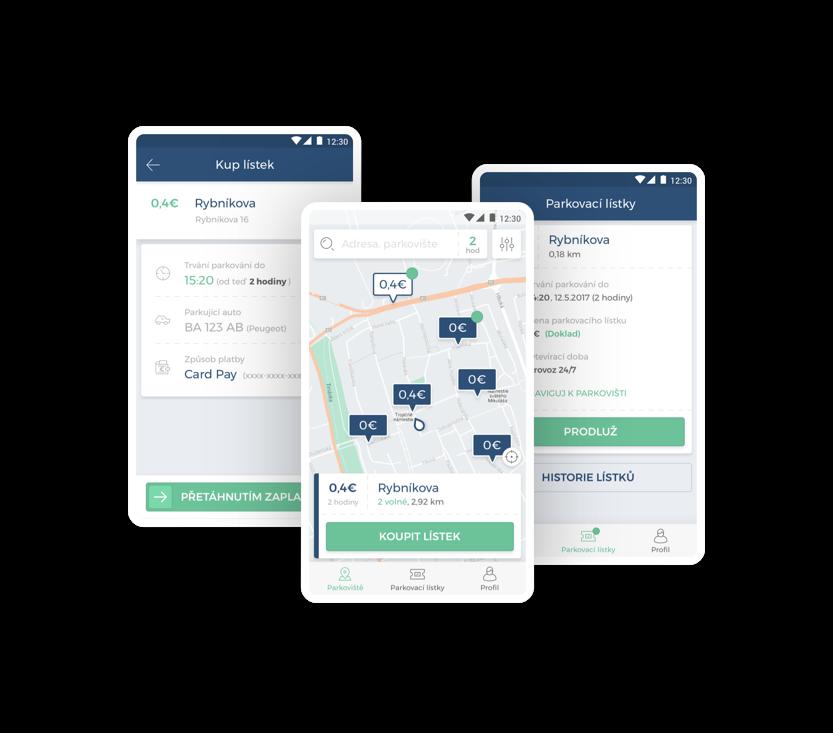 Jednoduché a bezpečné parkování s aplikací ParkDots